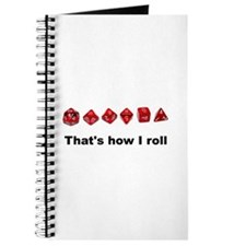 That's How I Roll Journal