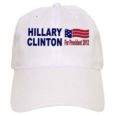 Hillary Clinton for President 2012 Baseball Cap