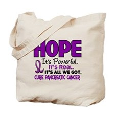 HOPE Pancreatic Cancer 1 Tote Bag