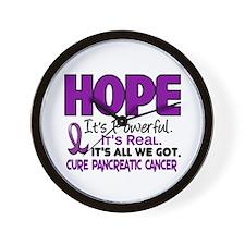 HOPE Pancreatic Cancer 1 Wall Clock