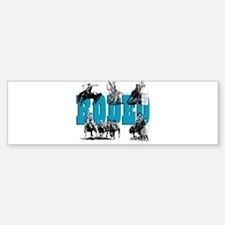 Rodeo Bumper Bumper Bumper Sticker