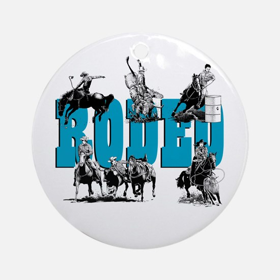 Rodeo Ornament (Round)