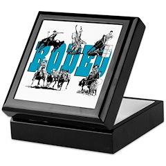 Rodeo Keepsake Box