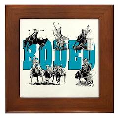 Rodeo Framed Tile
