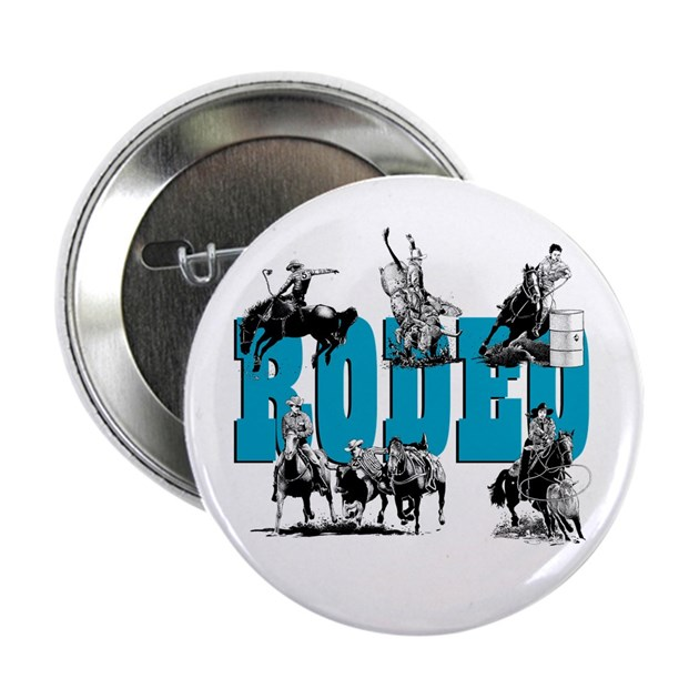 """Rodeo 2.25"""" Button (10 pack) by ladybrinxdesign"""