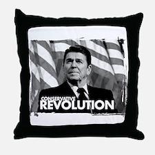 conservative revolution Throw Pillow