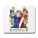 Molchanov Family Crest Mousepad