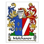 Molchanov Family Crest Small Poster