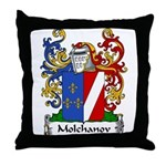 Molchanov Family Crest Throw Pillow