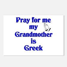 Pray for me Grandmother is Greek Postcards (Packag