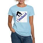I Snowboard Women's Light T-Shirt