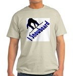 I Snowboard Light T-Shirt
