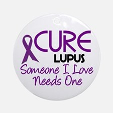 CURE Lupus 2 Ornament (Round)