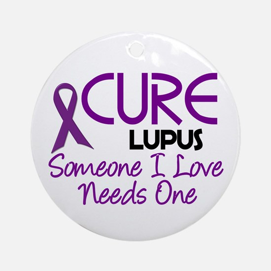 CURE Lupus 2 Ornament (Round)
