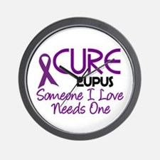 CURE Lupus 2 Wall Clock