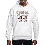President Obama 44 Hooded Sweatshirt