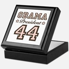 President Obama 44 Keepsake Box
