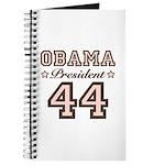 President Obama 44 Journal