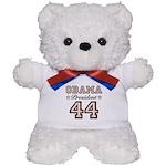 President Obama 44 Teddy Bear