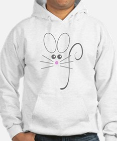 Gray Mouse Hoodie
