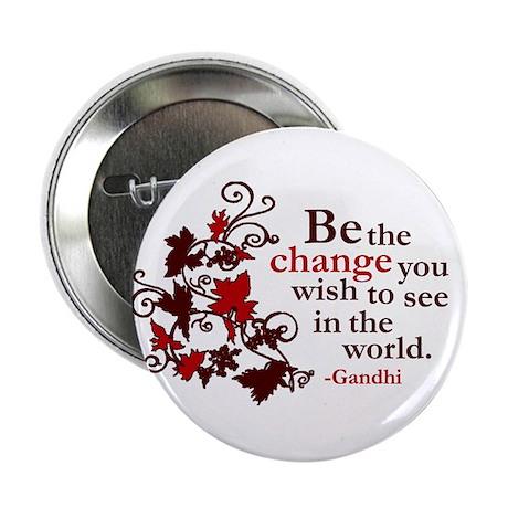 """Gandhi 2.25"""" Button (100 pack)"""