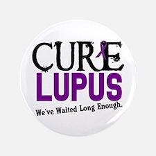 "CURE Lupus 3 3.5"" Button"