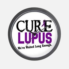 CURE Lupus 3 Wall Clock