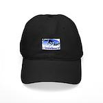 I Snowboard Black Cap
