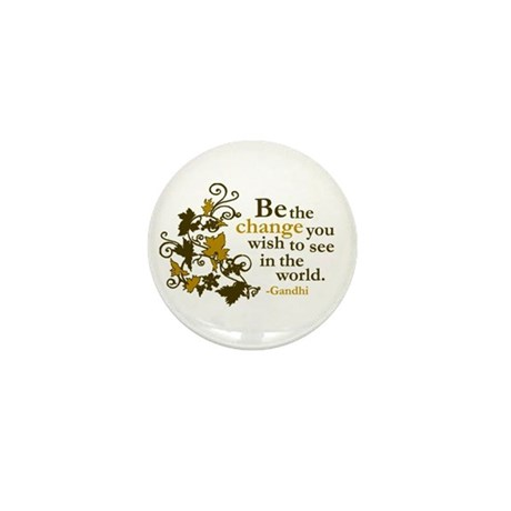 Gandhi Mini Button (10 pack)