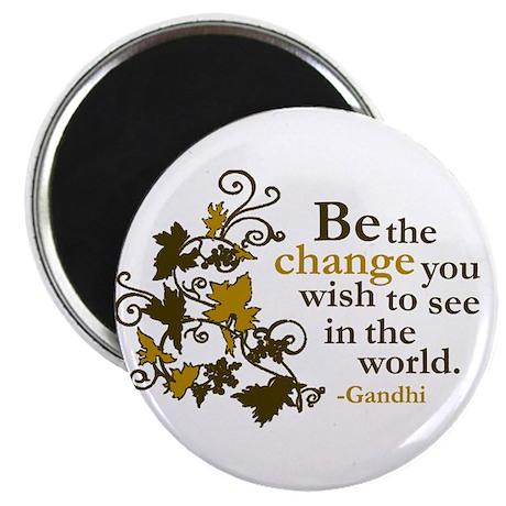 """Gandhi 2.25"""" Magnet (10 pack)"""