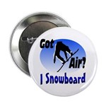 "I Snowboard 2.25"" Button (10 pack)"