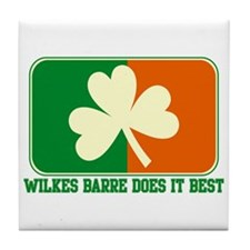Luck of The Irish Tile Coaster