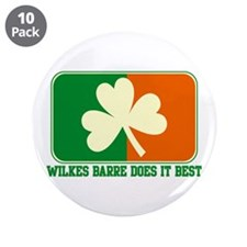 "Luck of The Irish 3.5"" Button (10 pack)"