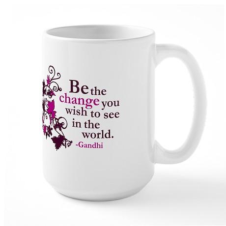 Gandhi Large Mug