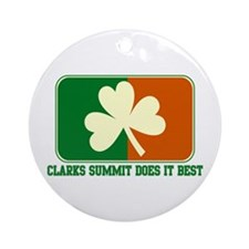 Luck of The Irish Ornament (Round)