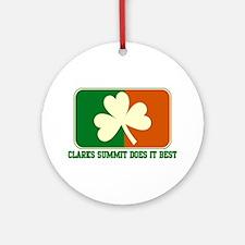 Luck of The Irish Ornament (Round)