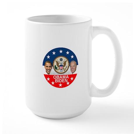 Obama Biden Seal Large Mug
