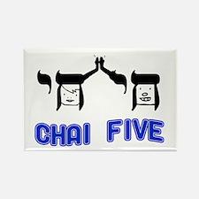 Chai Five Rectangle Magnet