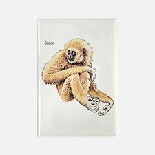 Gibbon Ape Rectangle Magnet