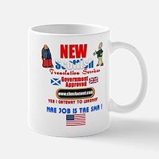 Translation Services. :-) Mug