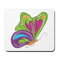 Butterfly Girl Mousepad