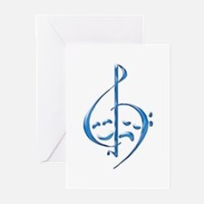 Musical Theatre Greeting Cards (Pk of 10)
