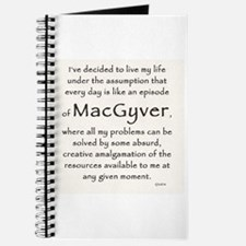 It's a MacGyver Life Journal