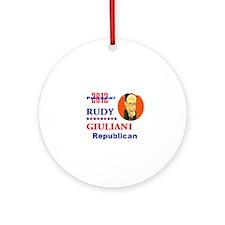 Rudy Giuliani 2012 Ornament (Round)