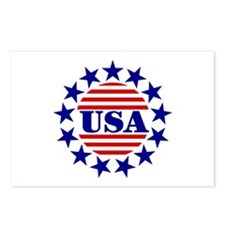USA! USA! Postcards (Package of 8)