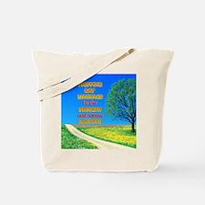 Narrow Minded Tote Bag