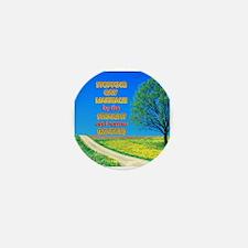 Narrow Minded Mini Button