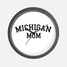 Michigan Mom Wall Clock