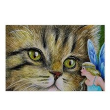 Cat and Fairy Postcards (Package of 8)