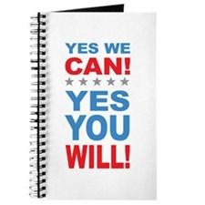 Obama Yes You Will Journal